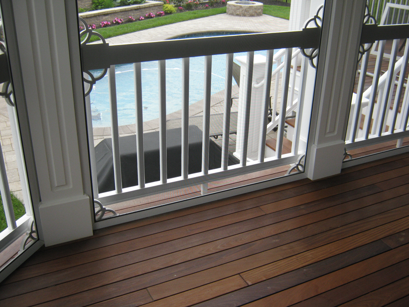 Ipe Deck and screen porch