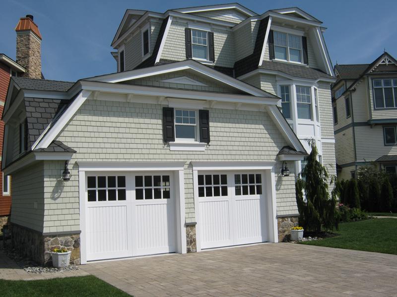 New custom home Cape May NJ – Garage View 2