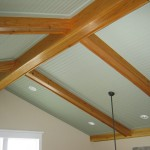 White Cedar Beamed Ceiling